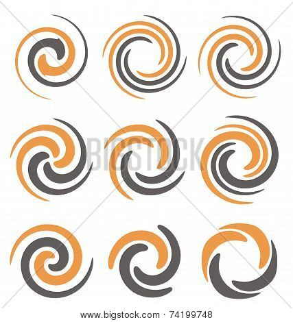 Swirls and spirals