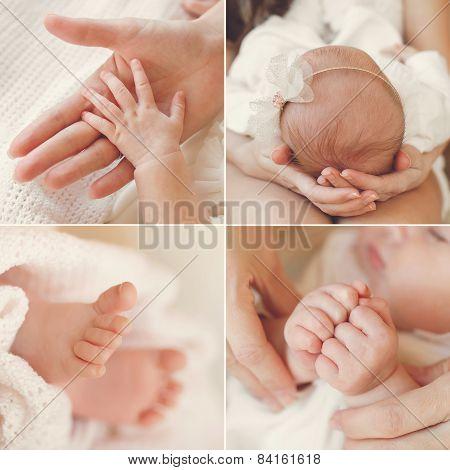 Красивые позы новорожденных для фото