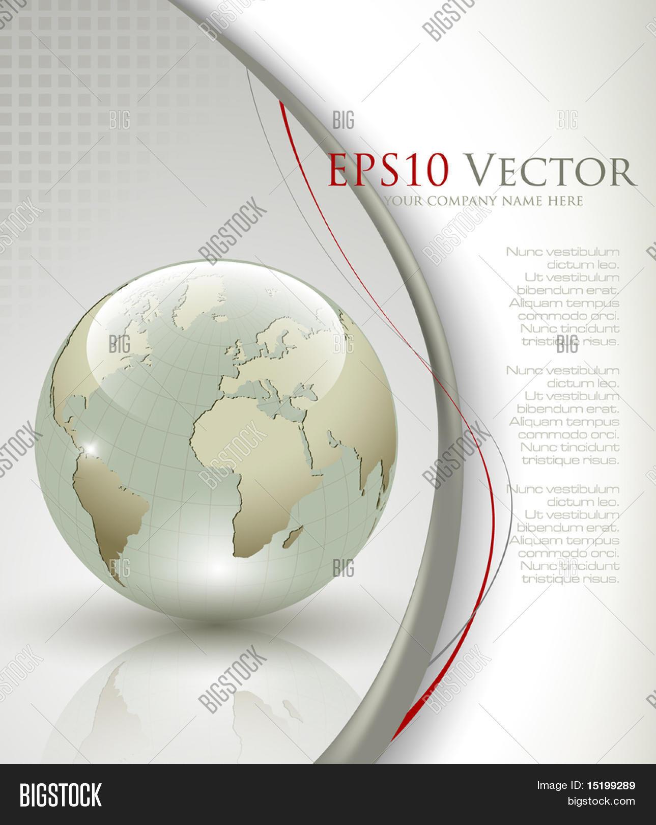 Business elegant abstract background - vector illustration