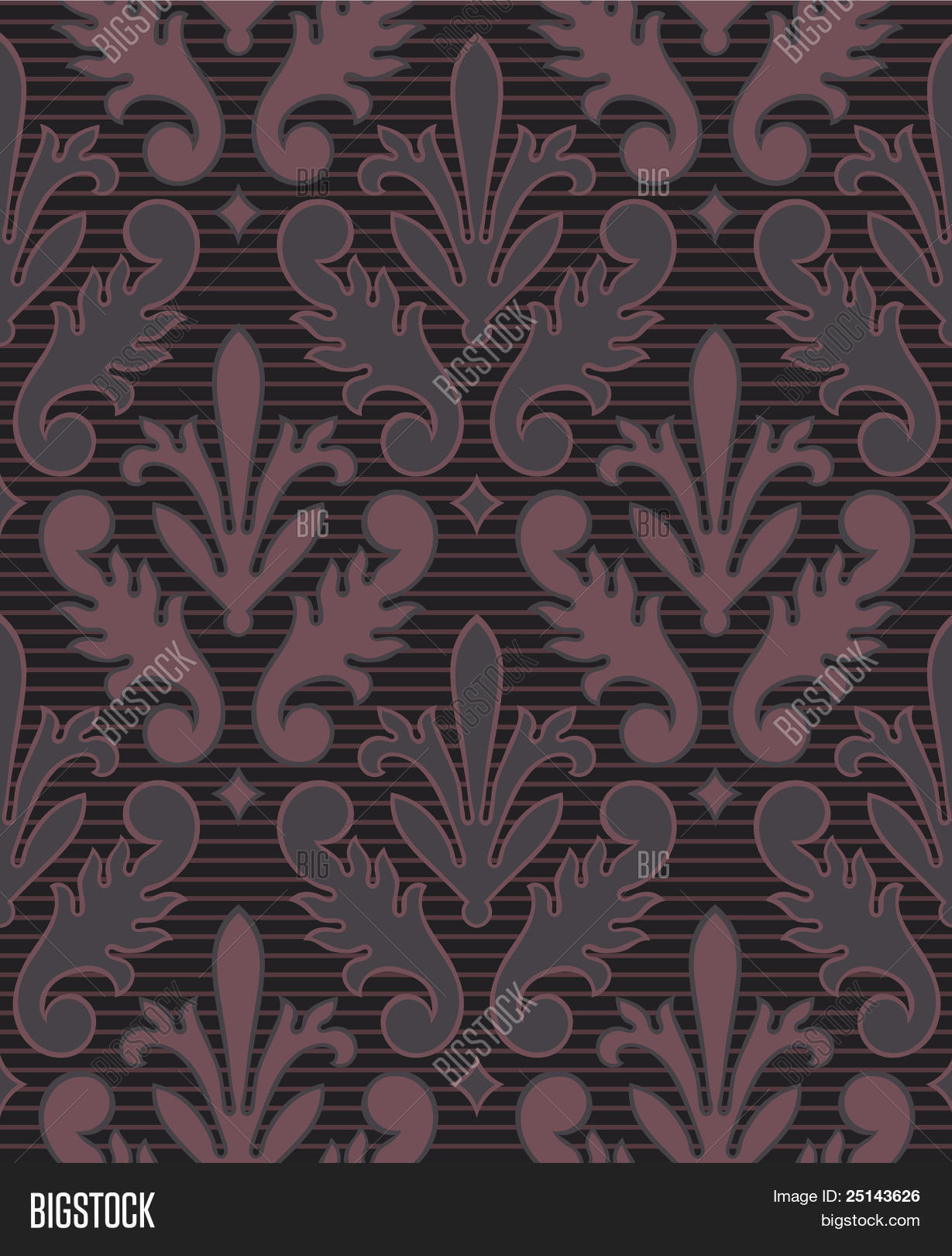Victorian Seamless Background 25143626 Image Stock Photo