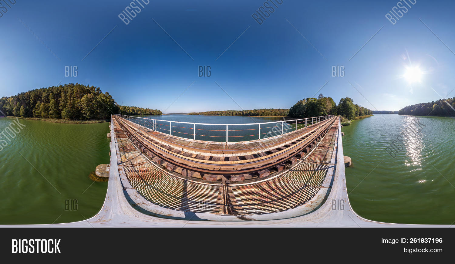 🔥 Full Spherical 360 Degrees Angle View Panorama On Steel Frame