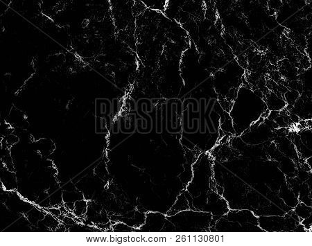 black marble texture Stone natural abstract background pattern (with high resolution) stock photo