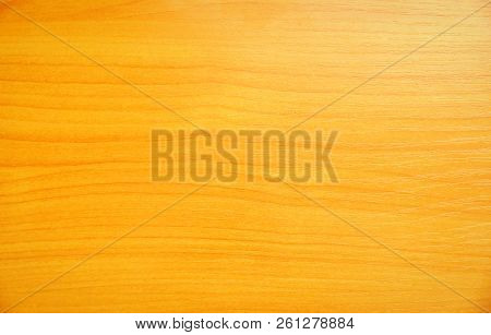 table surface modern wood materials orange-yellow background stock photo