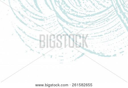 Grunge texture. Distress blue rough trace. Bold background. Noise dirty grunge texture. Likable artistic surface. Vector illustration. stock photo