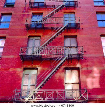 Immeubles d'appartements de new york city
