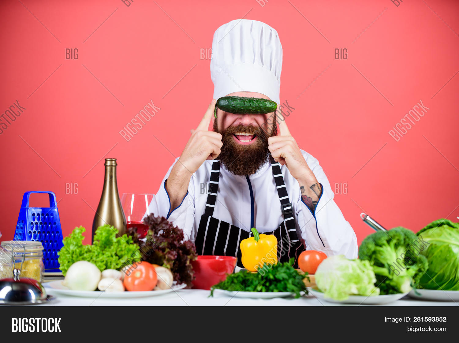 apron,background,buy,cafe,caucasian,chef,chief,choose,concept,cook,cooking,cucumber,cuisine,culinary,diet,dieting,eat,food,fresh,fun,gourmet,greenery,grocery,hat,health,healthy,hipster,hold,homegrown,lifestyle,man,nutrition,organic,professional,ration,recipe,red,restaurant,store,uniform,vegan,vegetable,vegetarian,vitamin