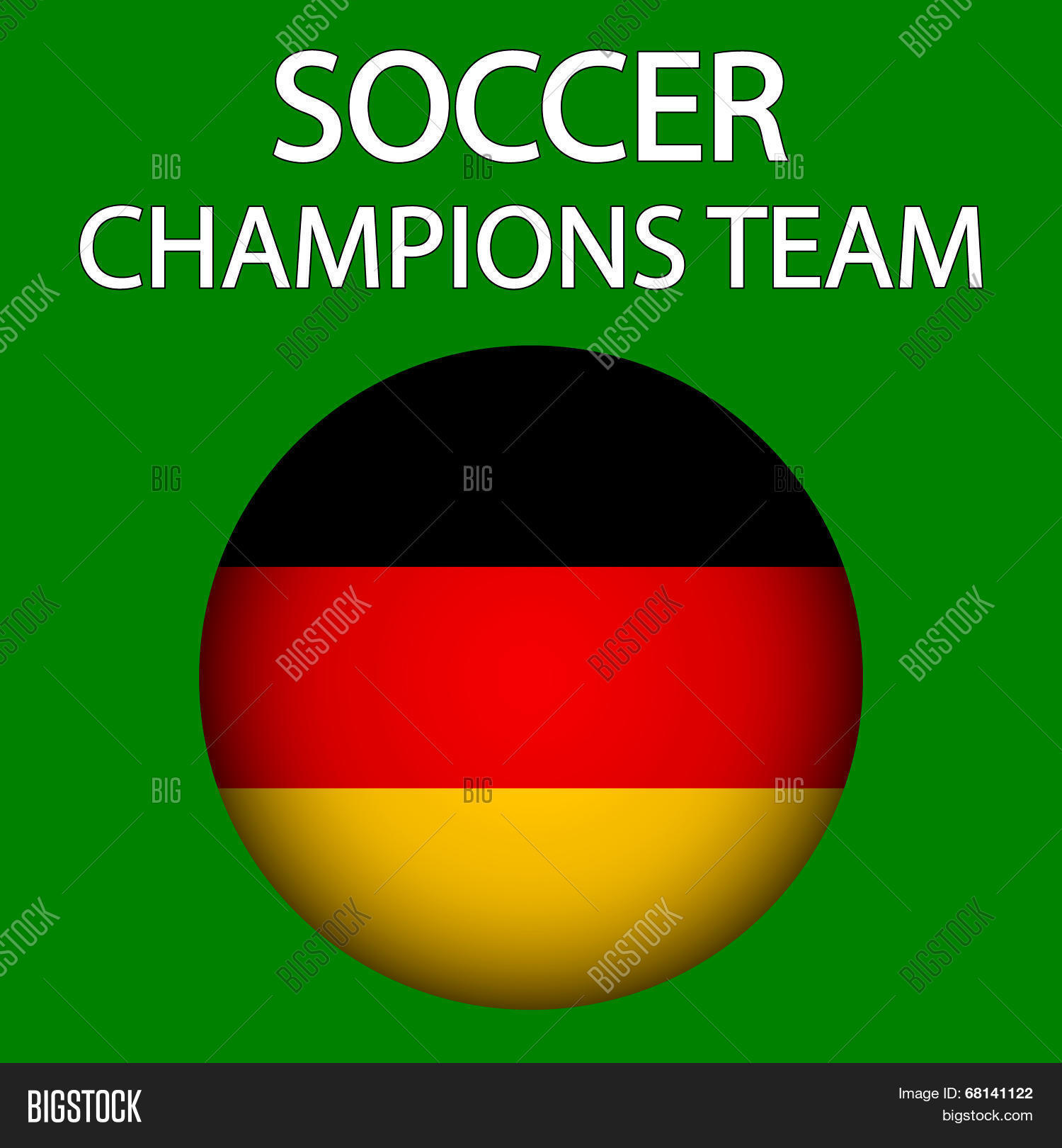 Germany Champions Team Soccer Game