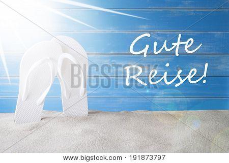 official photos fae3b 78bd1 🔥 German Text Gute Reise Means Good Trip.