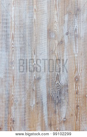 Aged wooden background of weathered distressed rustic wood boards with faded light blue paint showin
