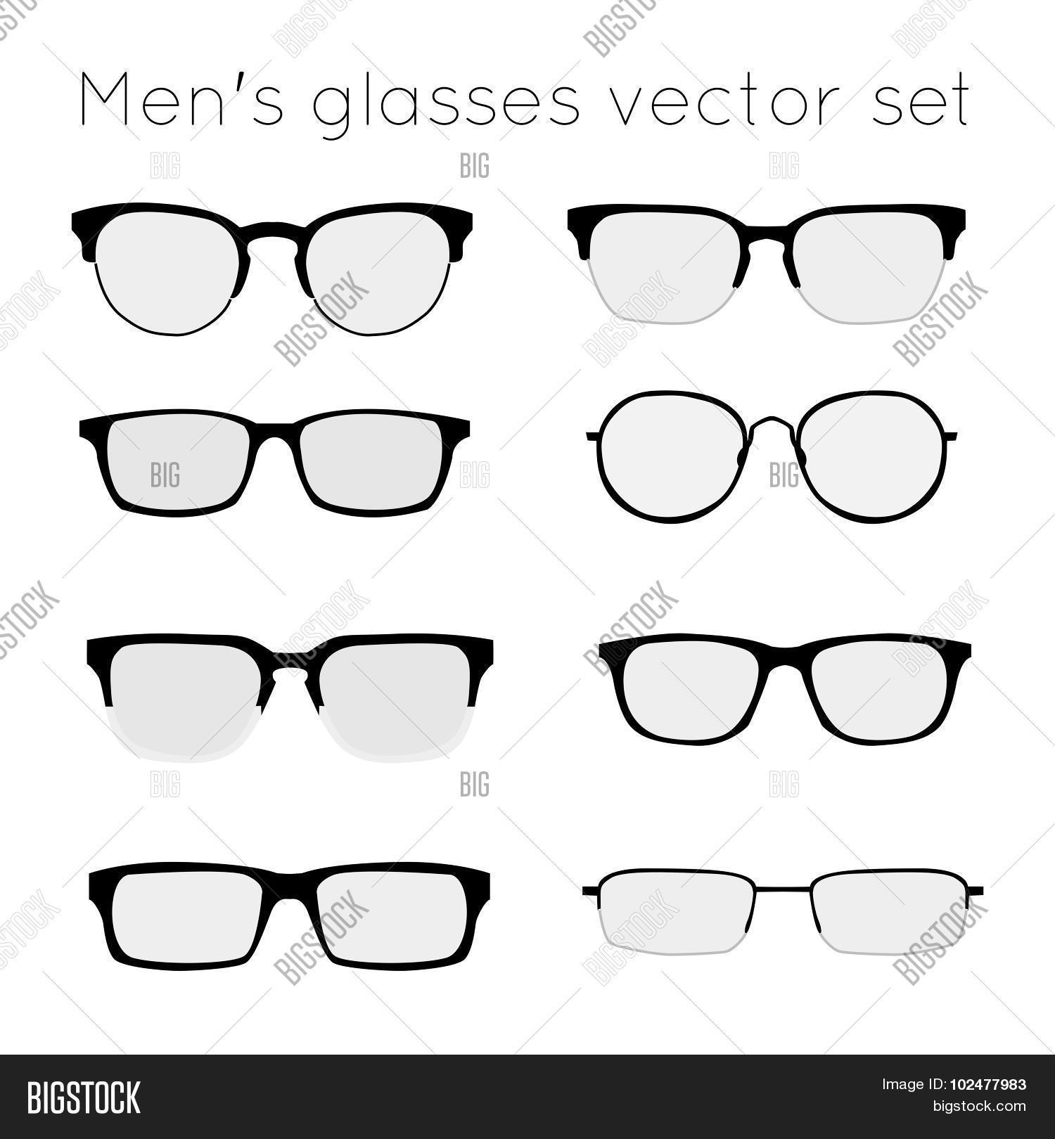 💥 Glasses 3 photo stock