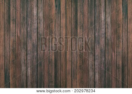 Rustic surface dark wood table texture background. Close up rustic dark wall made of wood table texture. Rustic dark wood table texture empty template for your design. Rustic Natural wood table texture. Rustic wood table texture top view. stock photo
