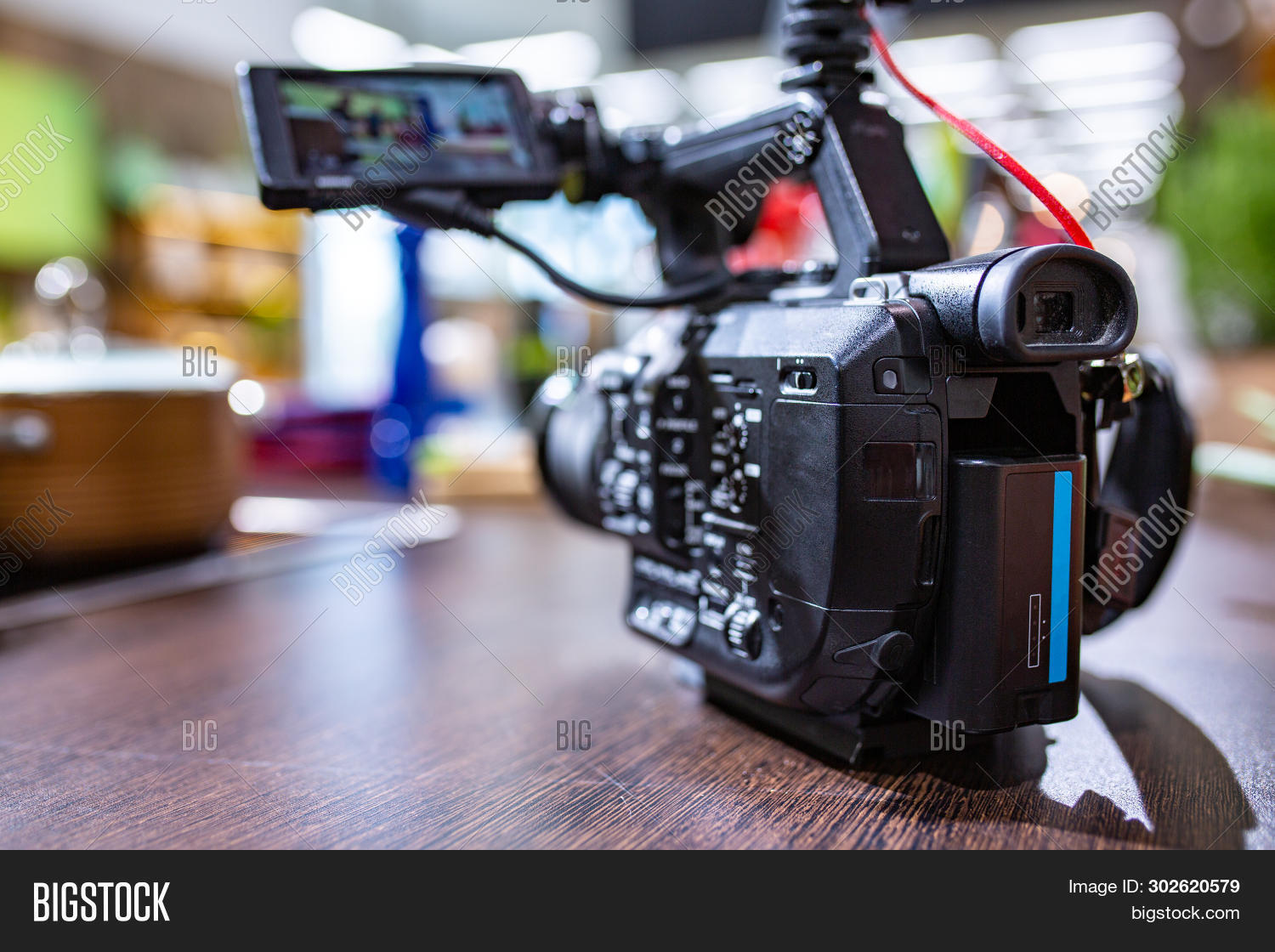 Behind The Scenes Of Video Production Or Video Shooting. The Concept Of Production Of Video Content