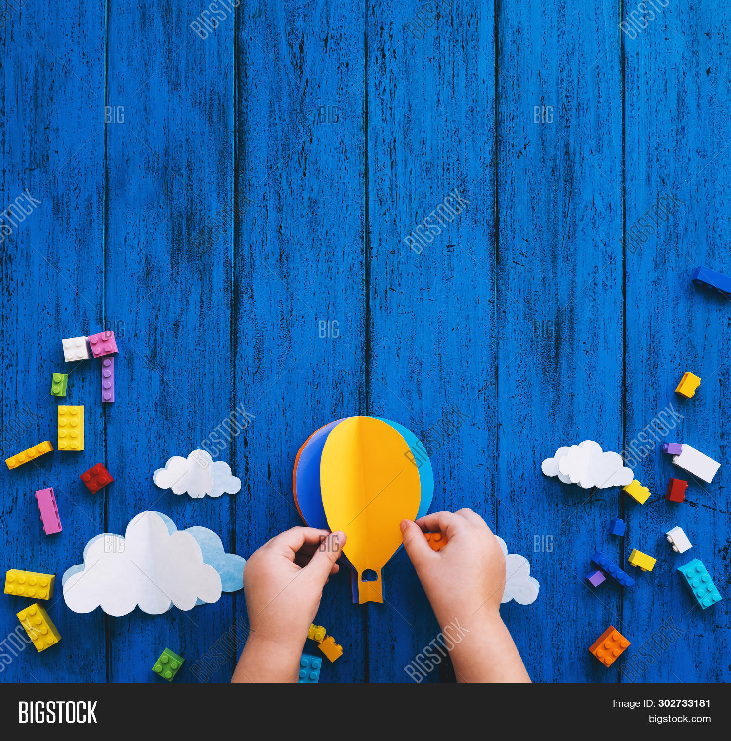Creative Colourful Kid's Background