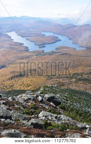 Lake Placid, Adirondack Mountains, New York-Dishwasher Magnet Skin (size 24x24)