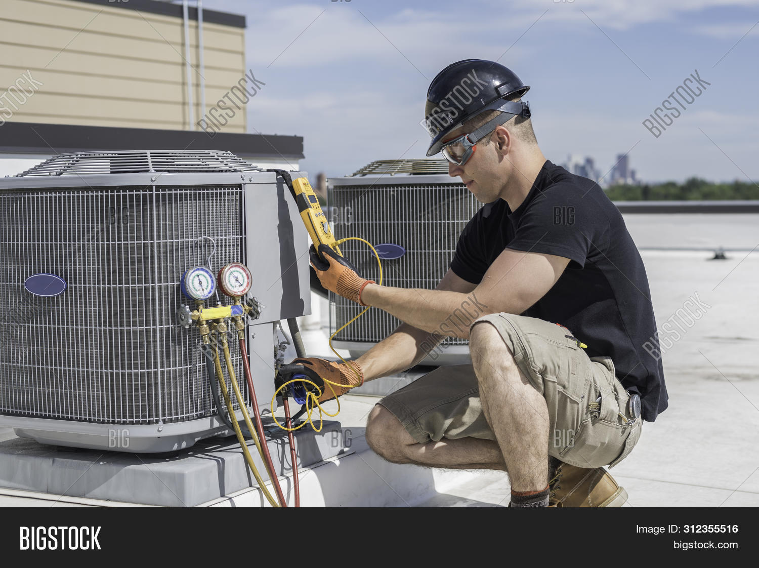 Equipment,Frozen,Ice,Industry,ac,air,coils,conditioner,cooling,electric,energy,fan,fix,gauges,gear,gloves,guy,heating,helmet,hot,hvac,job,laborer,maintenance,man,mechanical,meter,outdoors,person,repairman,safety,technician,tools,trade,ventilation,voltage,work,worker