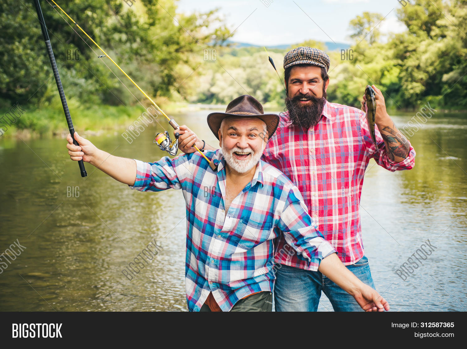 35s,60s,America,American,activity,aged,angler,bait,carefree,catch,catching,countryside,dad,day,elderly,family,father,fish,fishing,fly,fly-fishing,flyfishing,fun,grandfather,grandpa,grandson,growing,growth,happiness,hat,hoary,hobby,lure,male,man,net,old,pensioner,person,retirement,rod,senior,smile,son,stream,trip,trout,wild