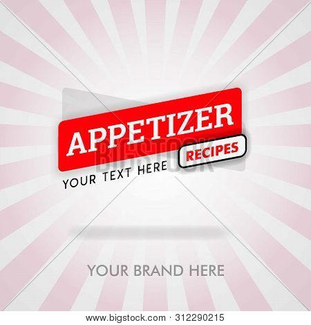food appetizer near me. american appetizer recipes cover. Cheese appetizer recipes and cookbook.  can be for promotion, marketing. suitable for cover, magazine, flyer, brochure, banner, web, business stock photo