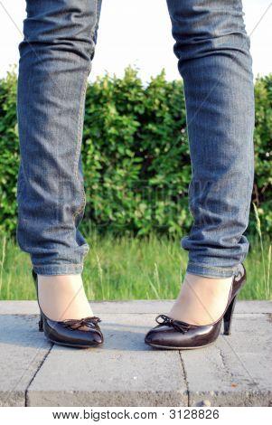 Woman\'S Legs, Shoes