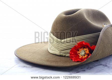 Anzac Day Australian Slouch Hat