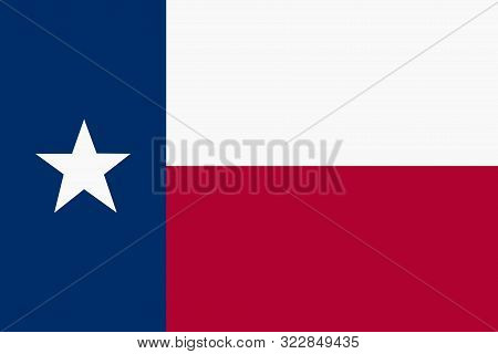 A Texas flag background illustration red blue white star stock photo