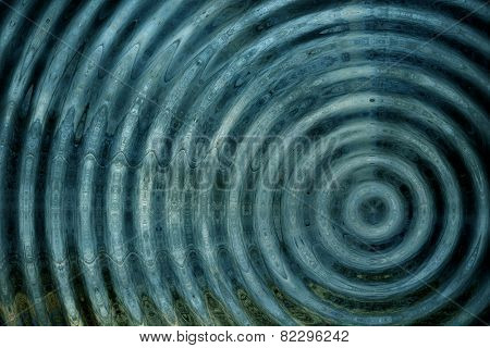 Resonate ,spread, magnetic field, or ripple abstract  stock photo