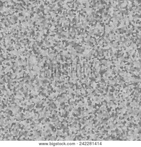 Grey grainy granular chaotic seamless texture background stock photo