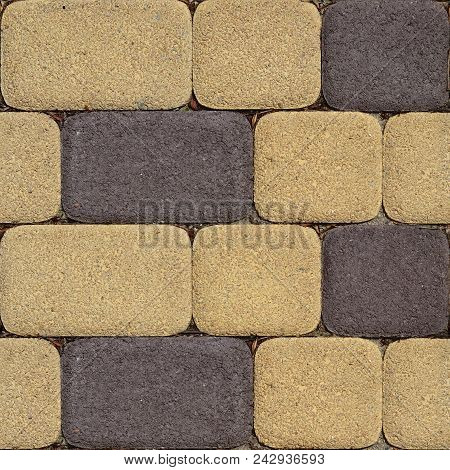 Abstract seamless pattern for designers with concrete causeway road from ciment stock photo