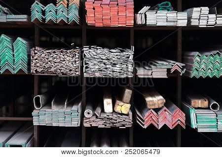 The Metal hardware store in Bangkok, Thailand stock photo