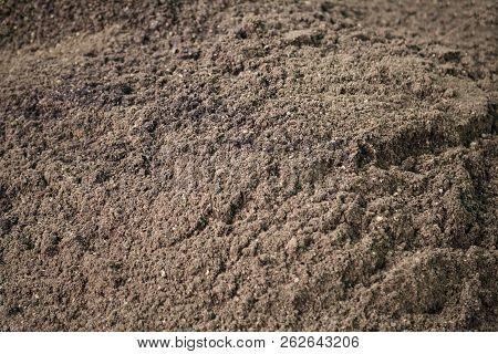 Dry Dark Brown Organic Compost, Manure, Composed Fertilizer, Soil Conditioner, Humus, Natural Plant