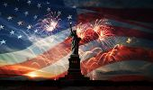 Independence Day. Freedom Enlightening The World