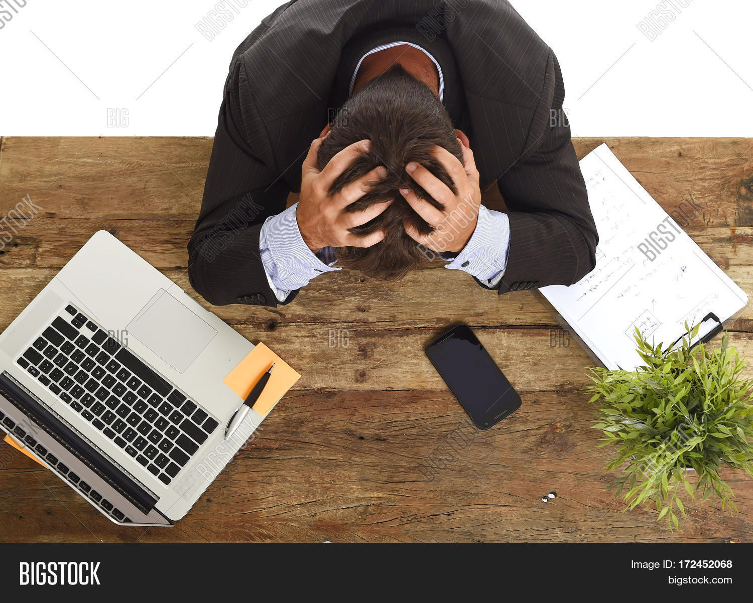 alone,business,businessman,collar,computer,corporate,crisis,crying,defeat,desk,despair,desperate,disaster,employee,exhausted,face,fired,frustrated,frustration,give,guy,hair,hands,head,helpless,isolated,laptop,load,man,notepad,office,one,overwhelmed,overwork,paperwork,people,person,problem,sitting,stress,stressed,suit,table,tired,wasted,white,work,workplace,young