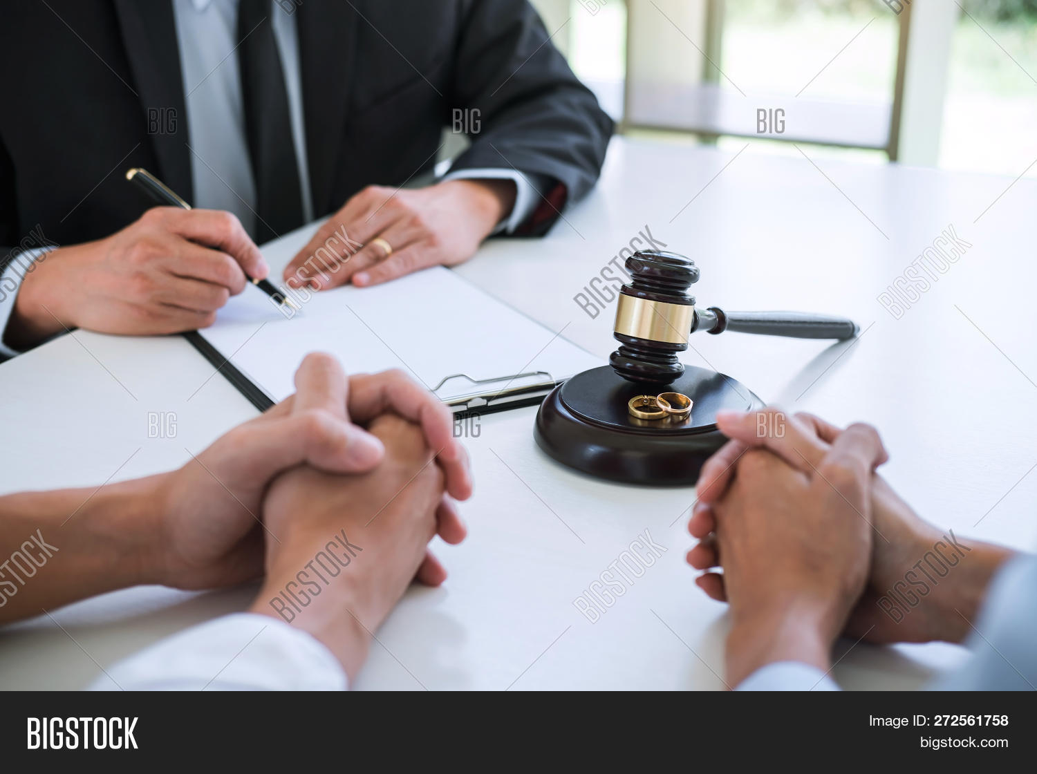 agreement,attorney,authority,conflict,controversy,couple,court,courtroom,decision,decree,despair,disagreement,disappointed,divorce,divorced,divorcing,end,equality,family,forsake,gavel,husband,infidelity,judge,judgement,justice,law,lawsuit,lawyer,legal,love,marriage,notary,problem,reflection,relationship,return,ring,separate,separation,signing,spouse,symbol,termination,unhappy,verdict,warrant,wedding,wife