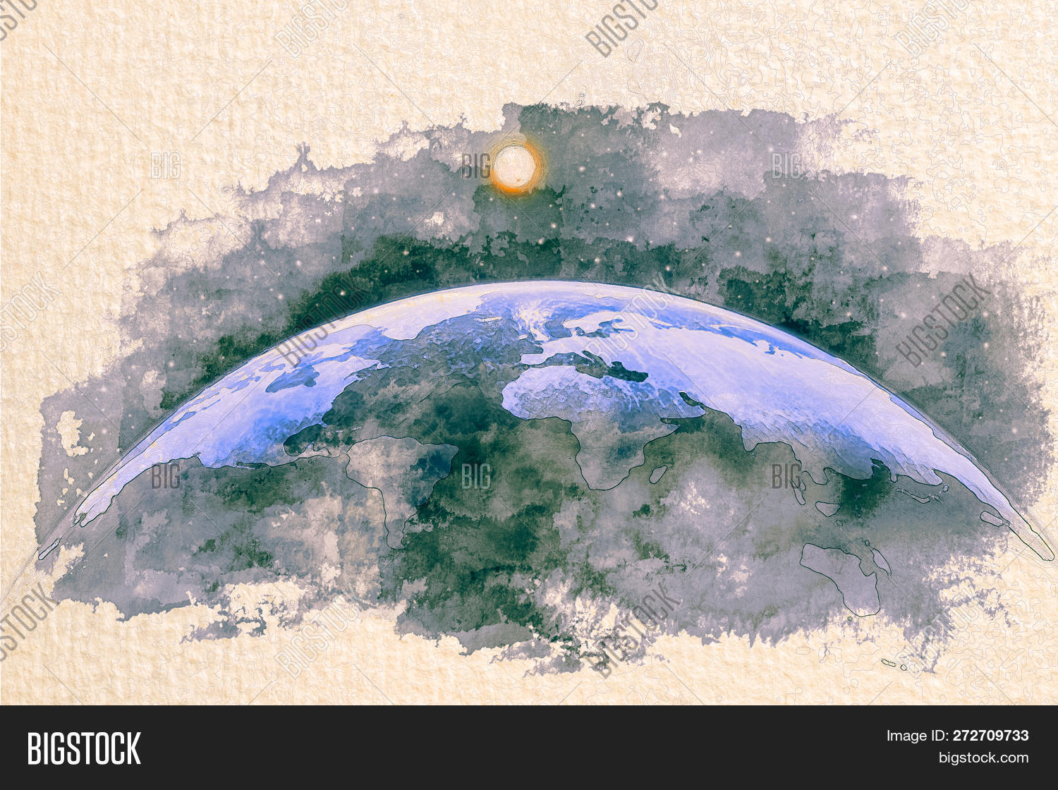 africa,america,art,asia,atlas,atmosphere,australia,background,blue,business,cartography,continent,dome,drawn,earth,europe,flat,geography,global,globe,hand,hemisphere,international,map,north,ocean,orbit,painting,paper,planet,postcard,retro,satellite,science,semi,sketch,south,space,sphere,star,sun,the,topography,travel,umbrella,usa,view,watercolor,world,worldwide