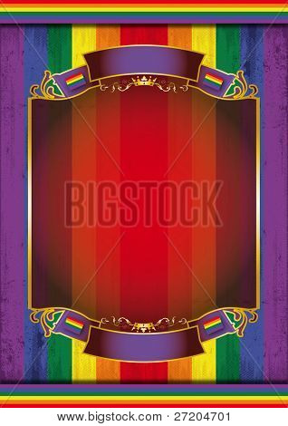 Gay background poster. A background poster for a gay pride stock photo
