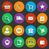 Shopping E-trade Icons