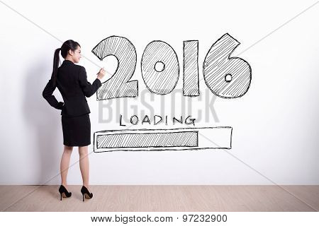 New Year Is Loading Now