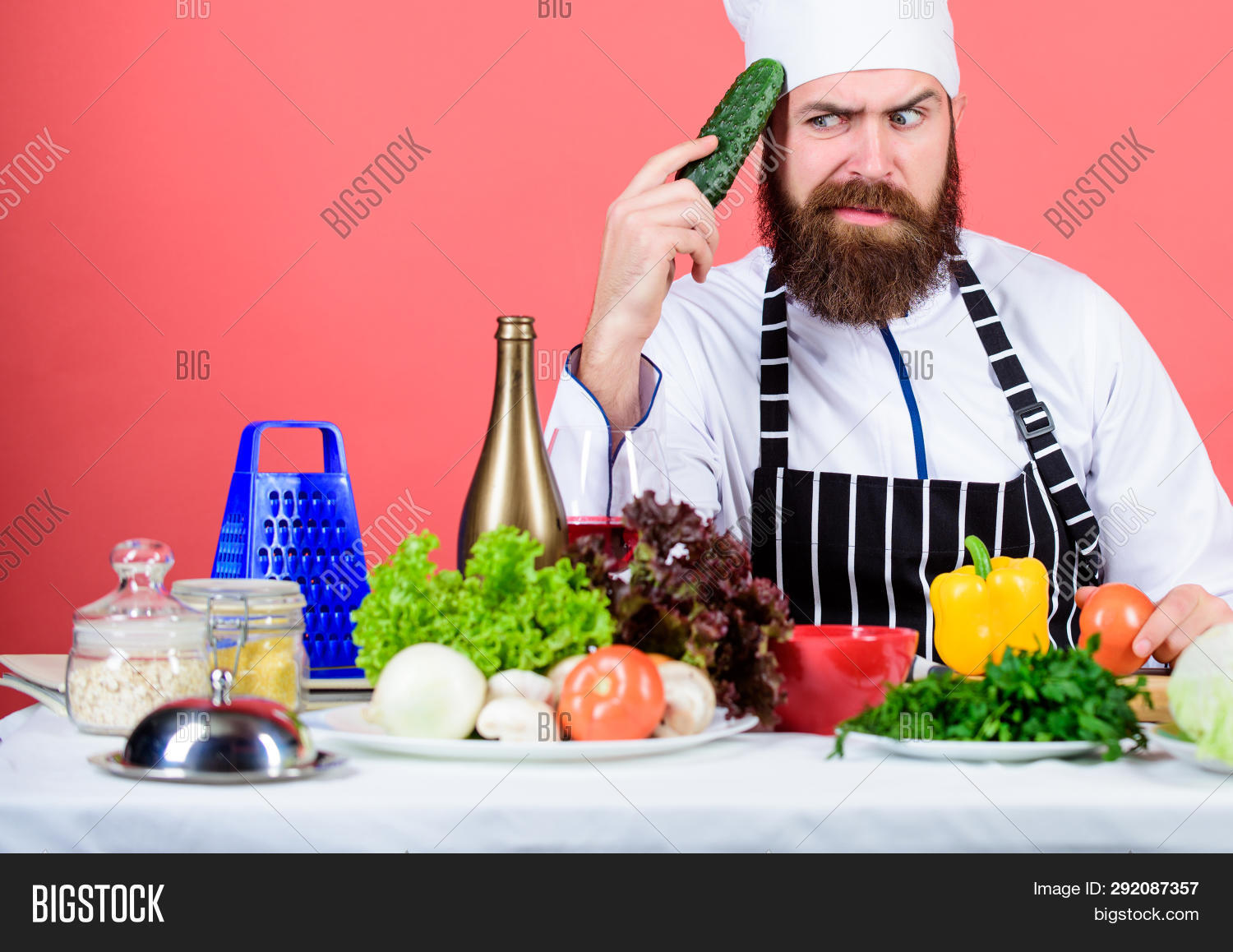 apron,background,buy,cafe,caucasian,chef,chief,choose,concept,cook,cooking,cuisine,culinary,diet,dieting,eat,food,fresh,gourmet,greenery,grocery,hat,health,healthy,hipster,hold,homegrown,idea,lifestyle,man,nutrition,organic,professional,ration,recipe,red,restaurant,store,think,uniform,vegan,vegetable,vegetarian,vitamin