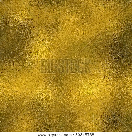 Golden Foil High Definition Tileable Texture. Shiny holiday unique quality pattern. 3000x3000 px dimension and 300 dpi resolution. 100% suitable for web and print high resolution gold background. With this texture you can create awsome web-backgrounds and stock photo