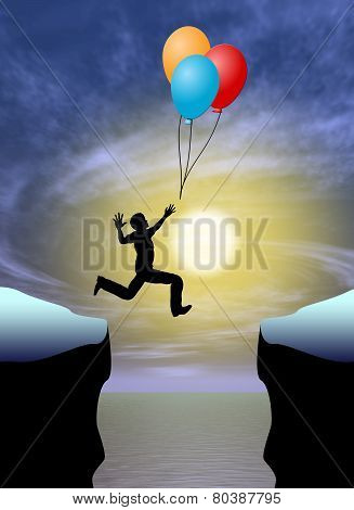 Concept sign of psychotic disorder when patients feel to be omnipotent stock photo