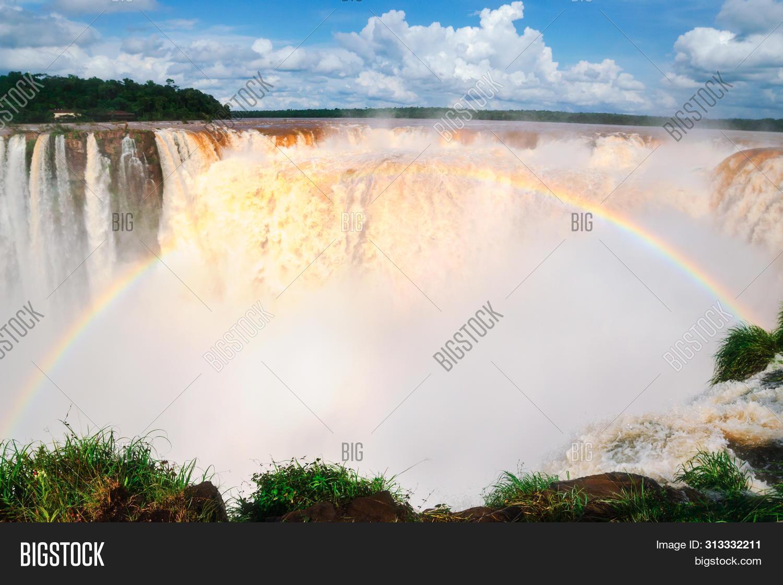 The Amazing Iguazu Falls In Argentina, South America