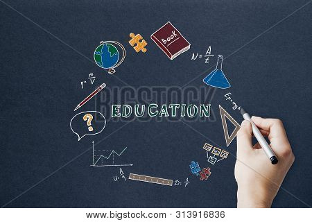 Knowledge And Science Concept