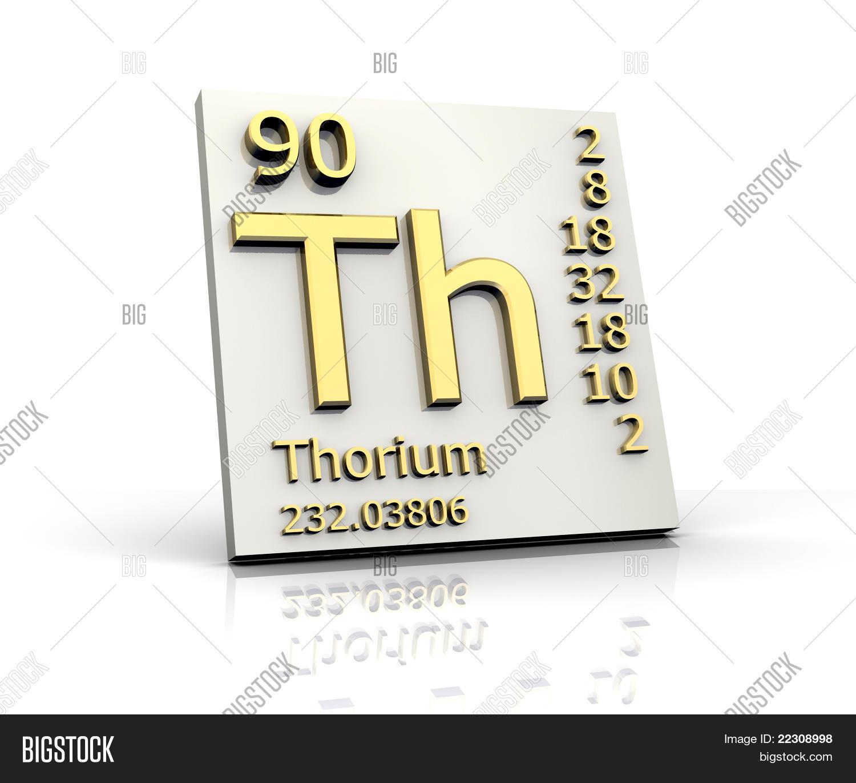 Thorium Form Periodic Table Of Elements Photo Stock