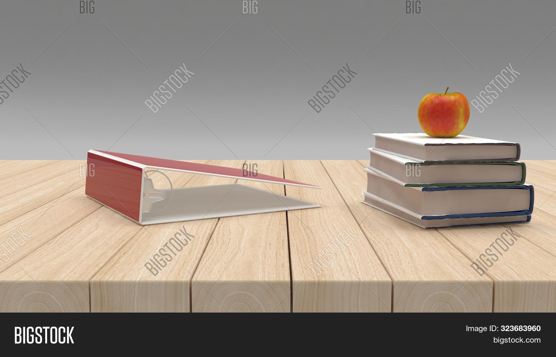 3D Render of BAck to School Concept