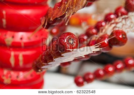 Traditional Chinese Snacks Asia food. close up stock photo