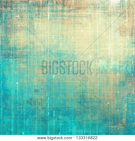 Retro style abstract background, aged graphic texture with different color patterns: yellow (beige);