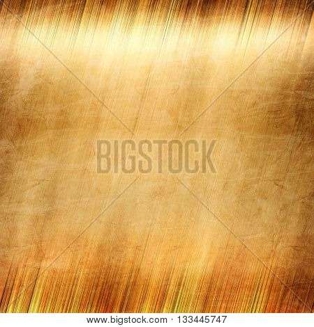 Gold. Gold metal. Golden texture. Polished gold. Gold Background. Golden metal background. Old gold.