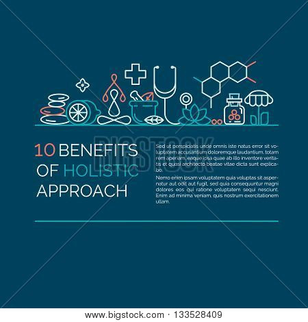 Holistic center, naturopathic medicine, homeopathy, acupuncture, ayurveda, chinese medicine, womans health. For web site, print design, business card, blog. stock photo