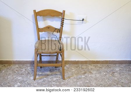 The Electric Chair Is A Machine That Was Used For The Application Of Capital Punishment