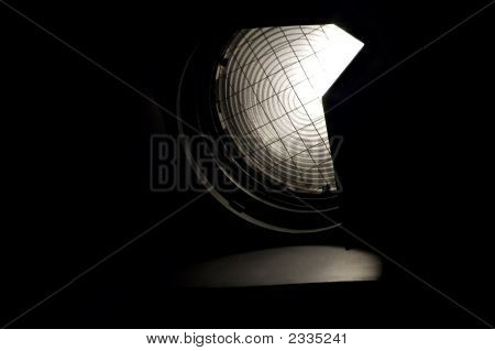 TV Studio is prepared for the production and shootinge stock photo