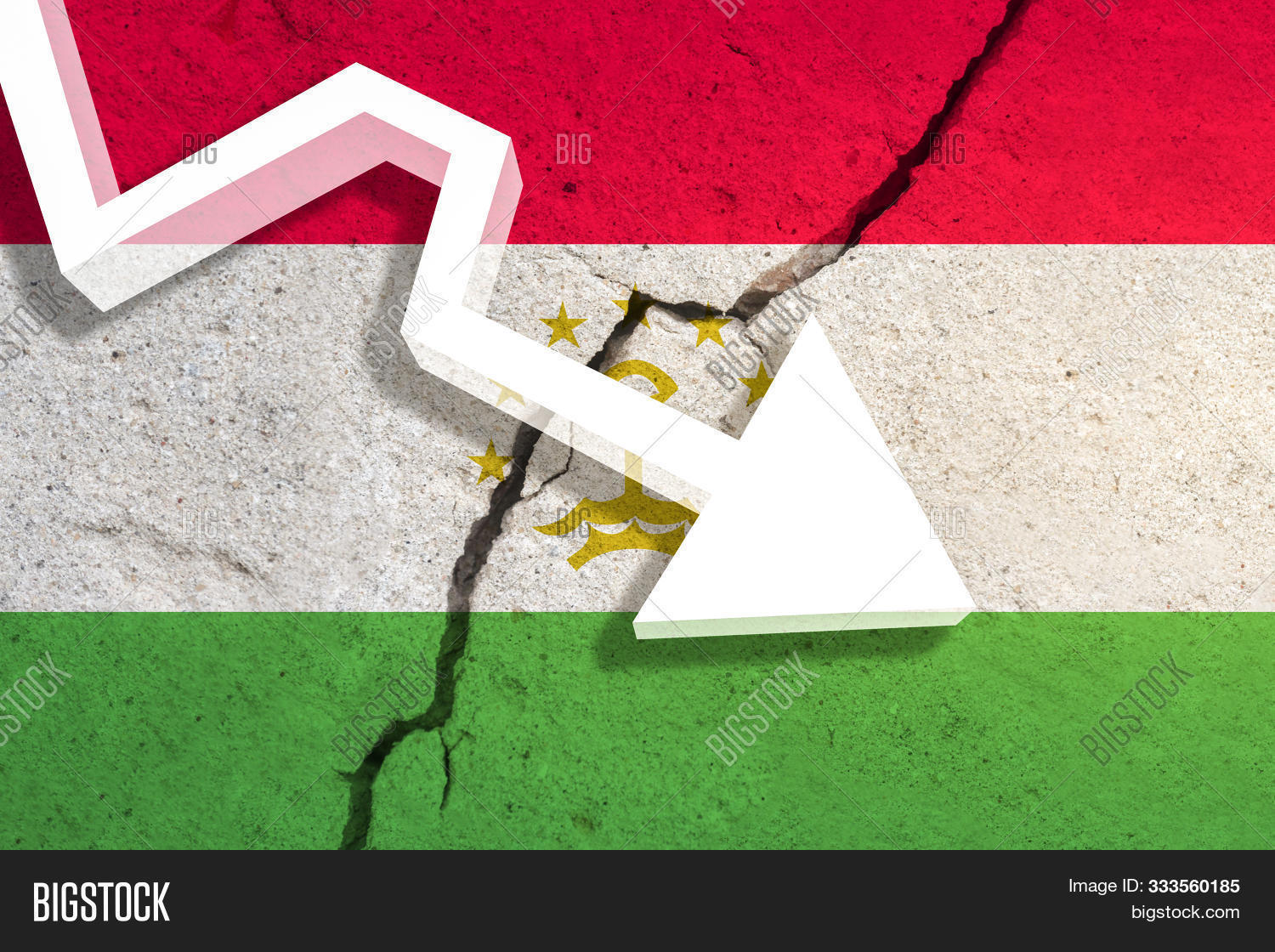 Tajikistan,analysis,arrow,bad,bank,banking,bankruptcy,banner,business,buy,company,crash,crisis,currency,dangerous,debt,decline,depressed,depression,display,down,economy,exchange,failure,fall,falling,finance,financial,flag,inflation,investment,job,market,money,pay,price,problem,reduction,risk,safety,savings,sell,symbol,textile,trade,trouble,wave